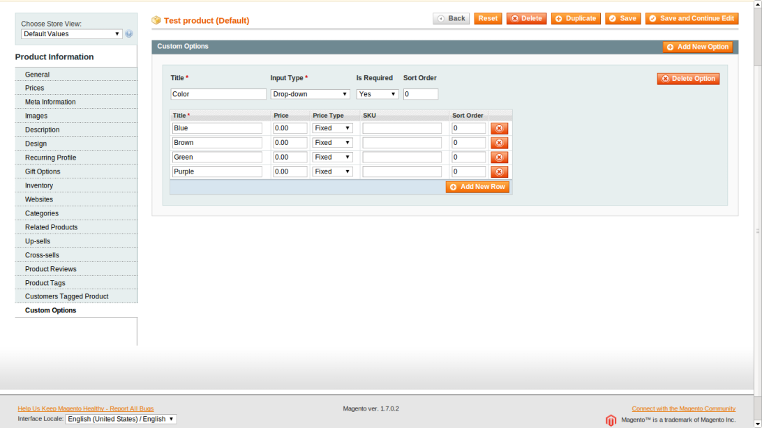 Create a Color Switcher in Magento