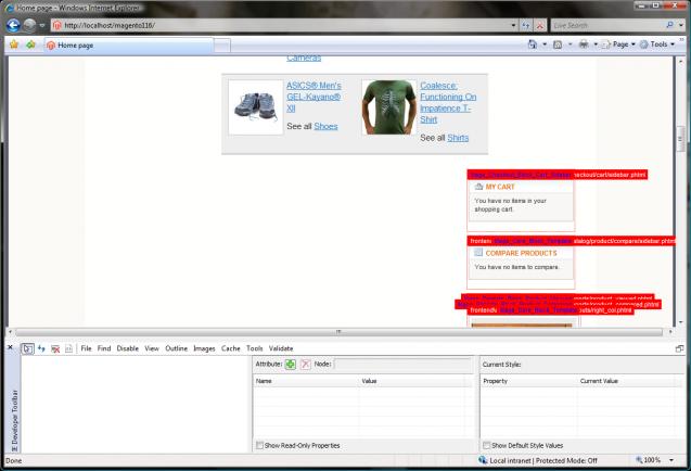 Internet Explorer Developer Toolbar