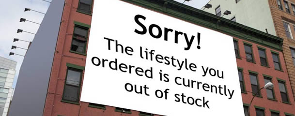 Lifestyle Out of Stock
