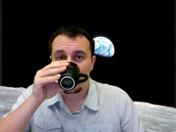 Web Developer Drinking Coffee