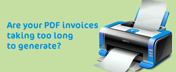 Invoice printing to PDF taking to long in Magento?
