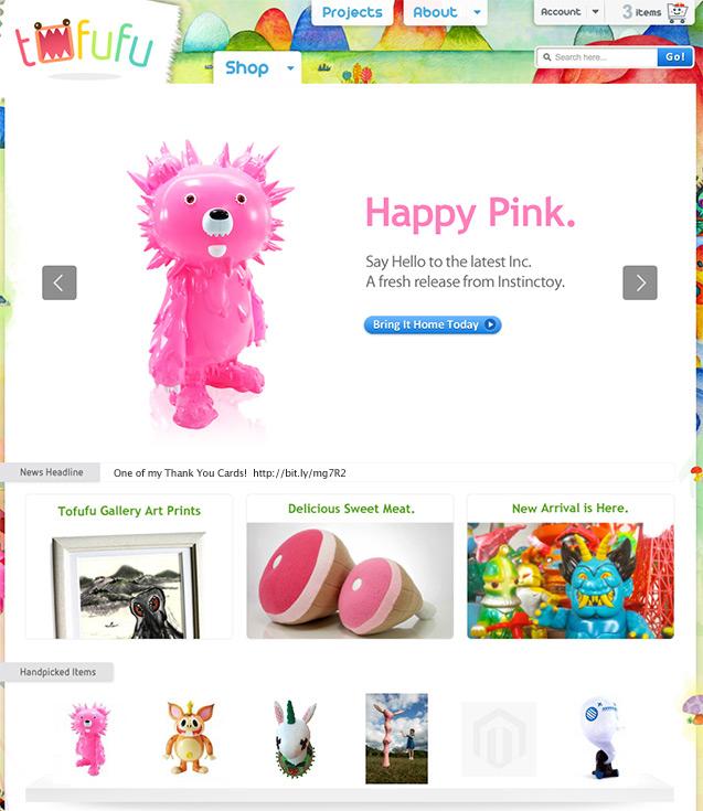 Magento Home Page design