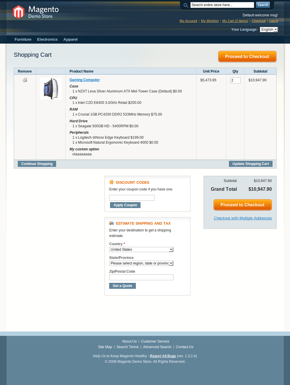 Programatically add bundle product to cart in Magento • Inchoo