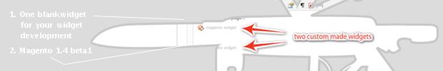 Blank Magento widget to get you started with Magento widget development