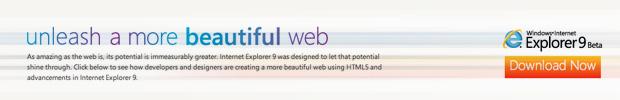 Reinvigorated Internet Explorer 9