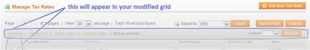 How to add massactions to Magento's grid