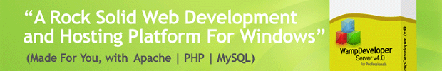 WampDeveloper – My Choice for web development platform