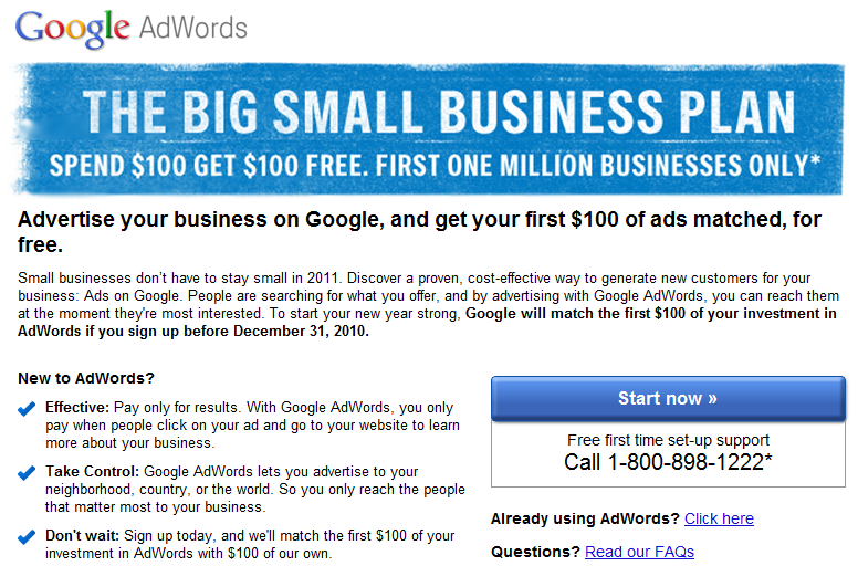 Google AdWords free coupon is not really free • Inchoo