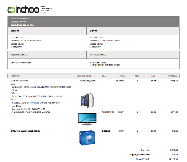 How To Add Product Images Into Magentos Pdf Invoice