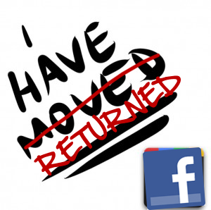 I have returned - Facebook Avatar