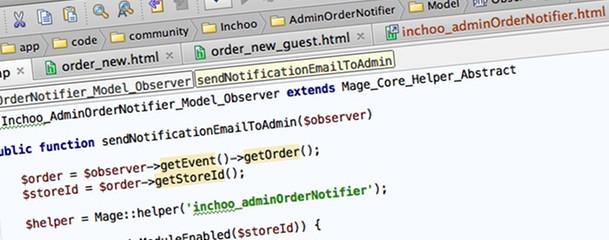 Magento Admin Order Notifier