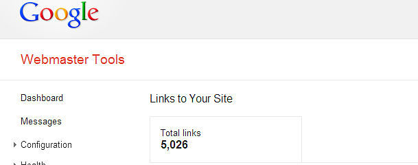 Are you suddenly missing lots of links in Google Webmaster Tools?
