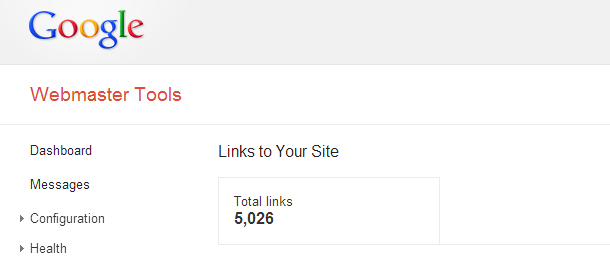Webmaster Tools Links to Your Site Sudden Decline