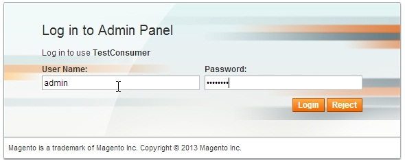Consuming Magento REST services - with oAuth authentication