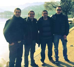 Vanja, Tomislav, Hrvoje and Filip