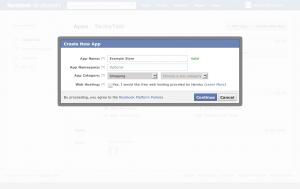 Facebook App Step 2
