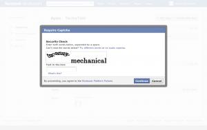 Facebook App Step 3