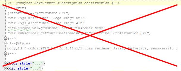 Disabling Magento's default newsletter transactional emails