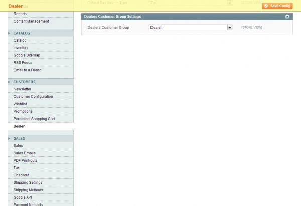 Configuration - System - Magento Admin 2