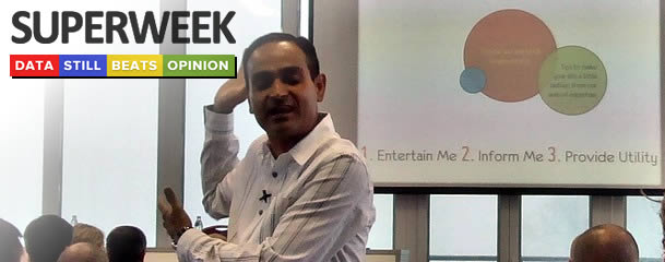 "Superweek 2014. – ""hill, snow, Avinash"" and what's hot in digital analytics world!"