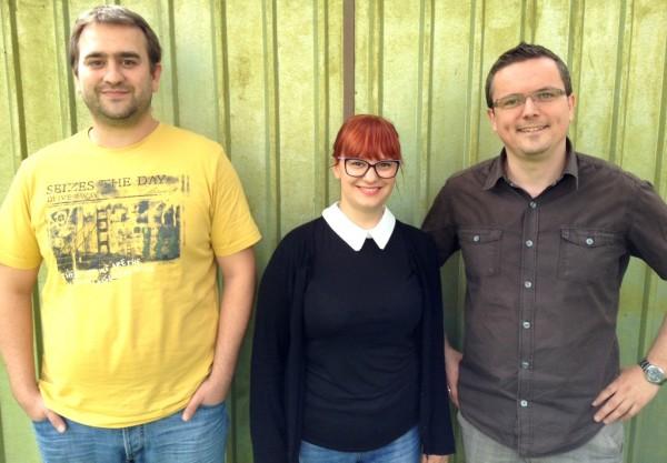 Ivan, Maja and Tomislav