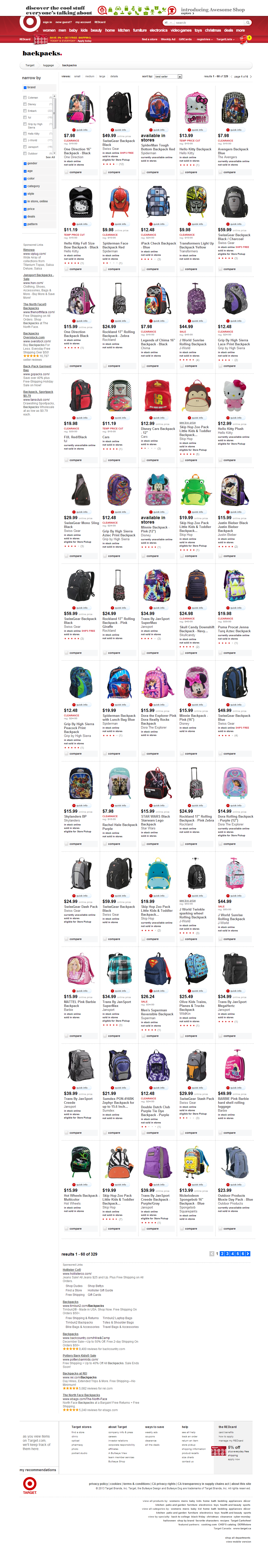 Highest Quality Category Page