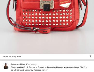 Neiman Marcus Rebeca handbag
