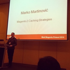 Marko Martinović at Meet Magento Poland