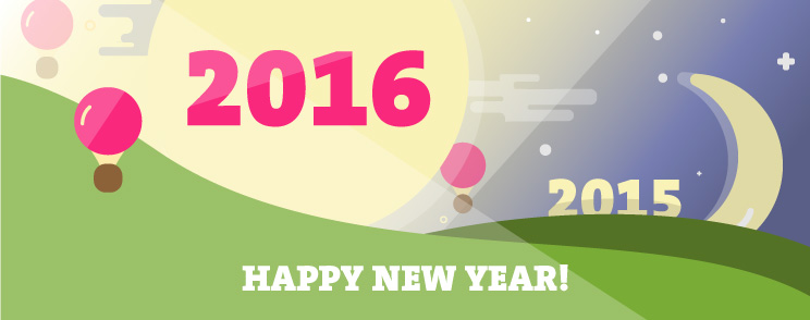 Bye bye 2015. You were amazing!