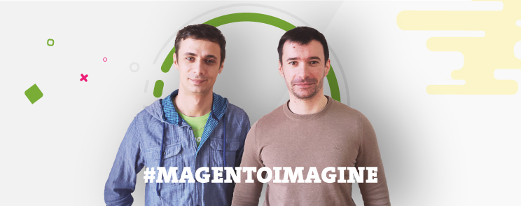 Two Inchooers crossing the pond for Magento Imagine