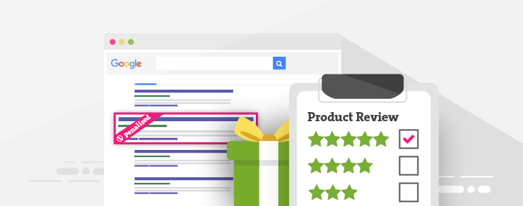 Google manually punishes bloggers with paid product reviews
