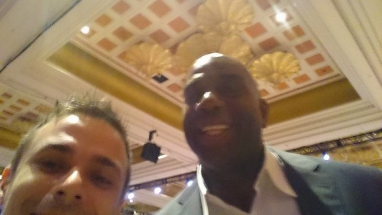 Magic Johnson Selfie