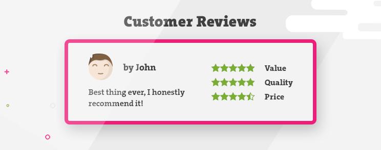 Improve default Magento reviews