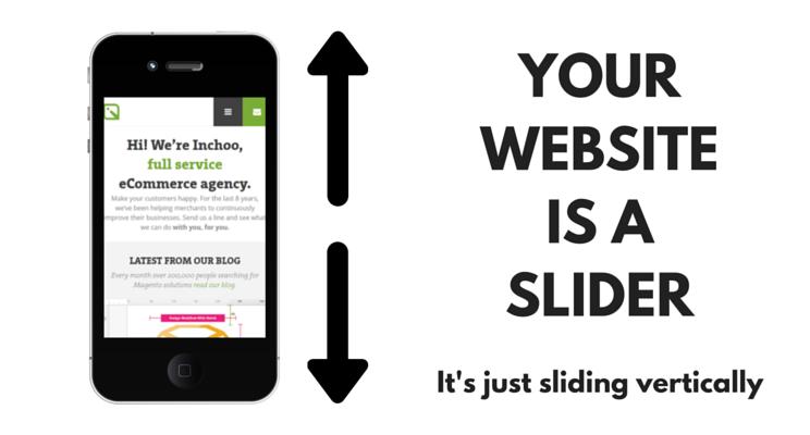 website equals slider
