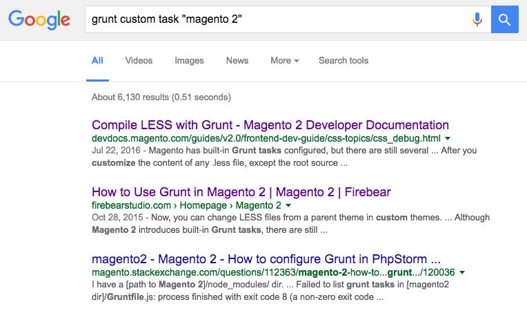grunt-on-google