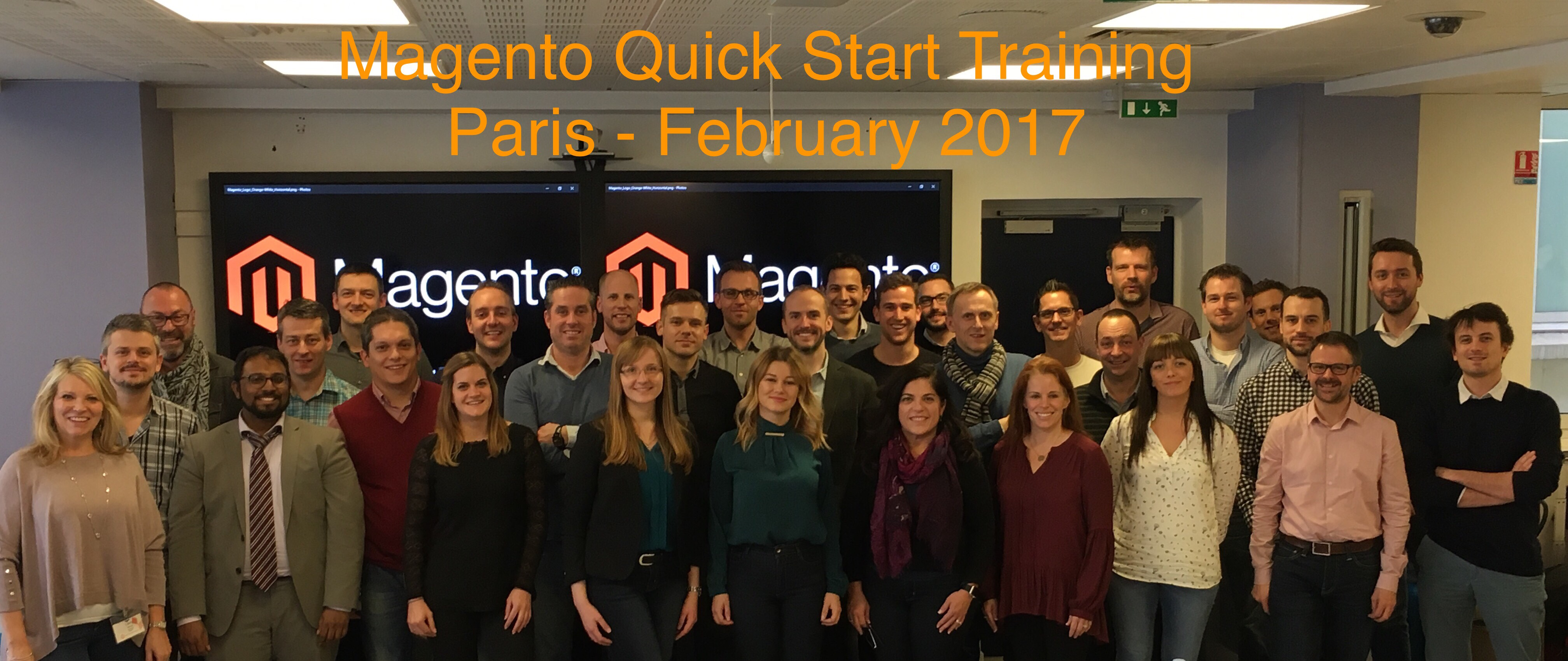 Magento Enablement training in Paris – overview by Inchoo