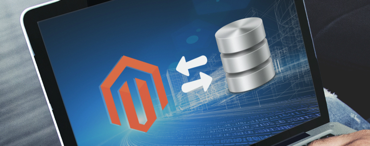 magento external database connection