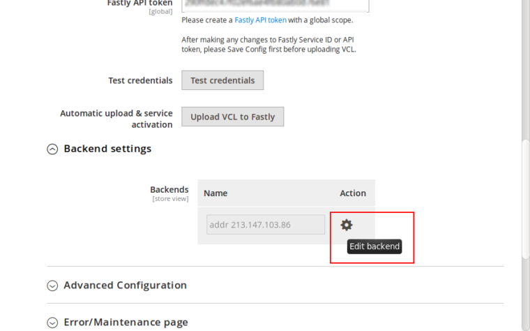 Configure Origin shielding and timeout settings in Fastly • Inchoo