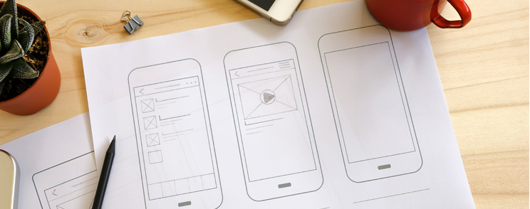 Wireframing a successful design for your online store