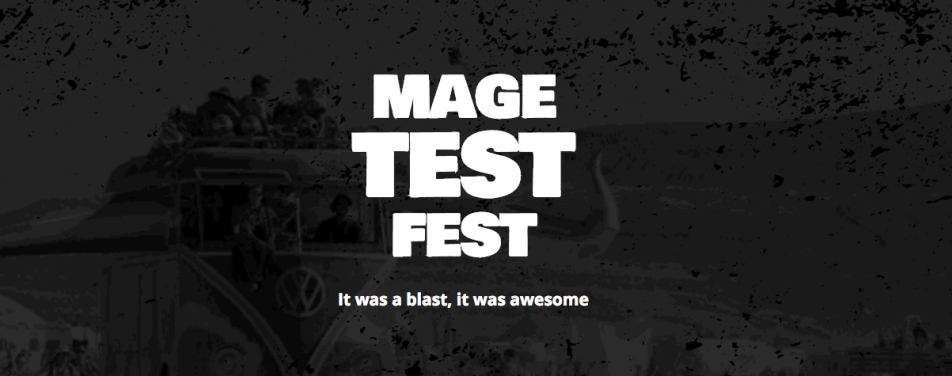 Review: MageTestFest – testing all the way!