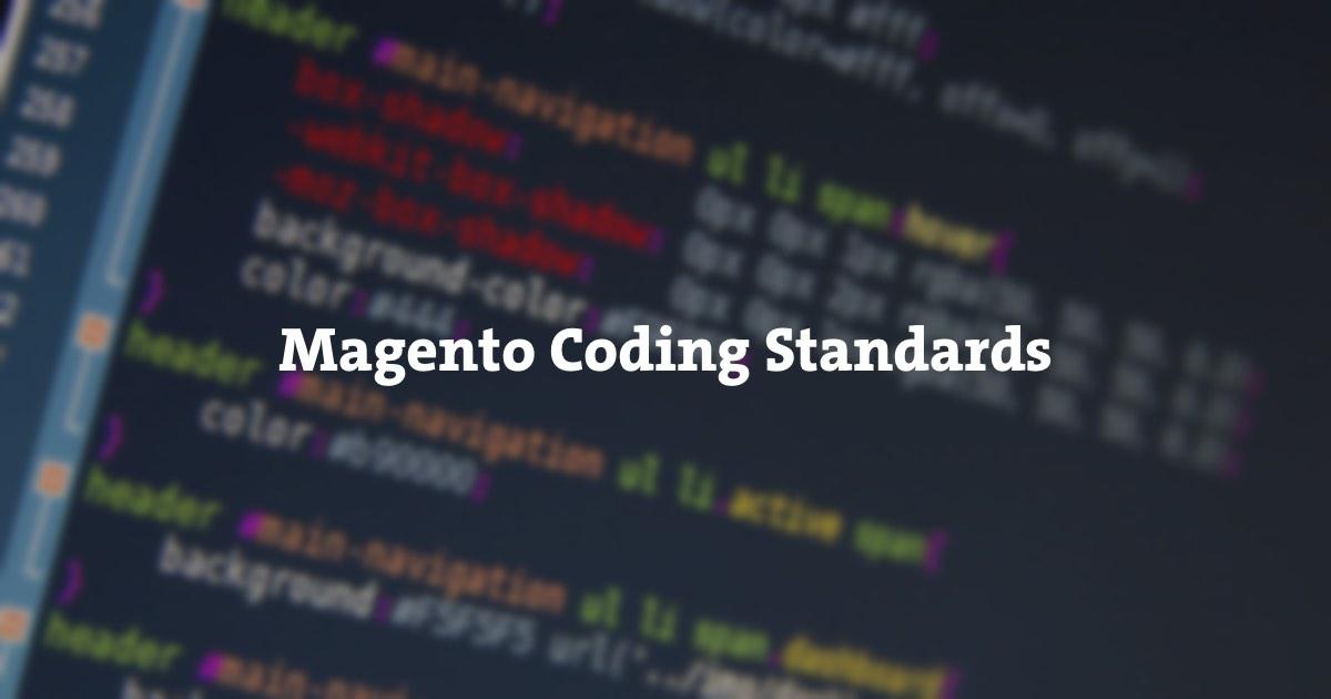 Magento Coding Standards • Inchoo