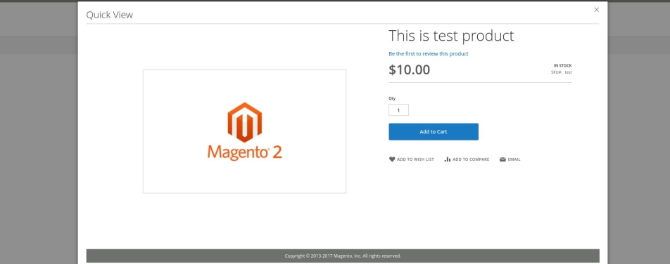 Magento 2 Product Quick View