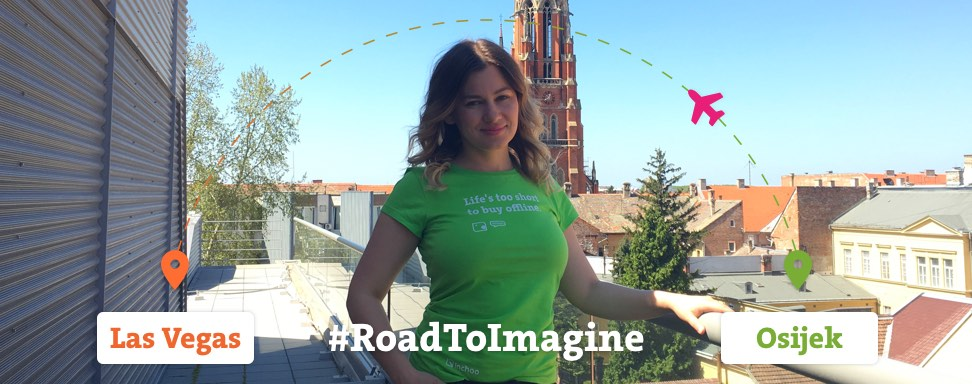 On the road again – heading off to Imagine!