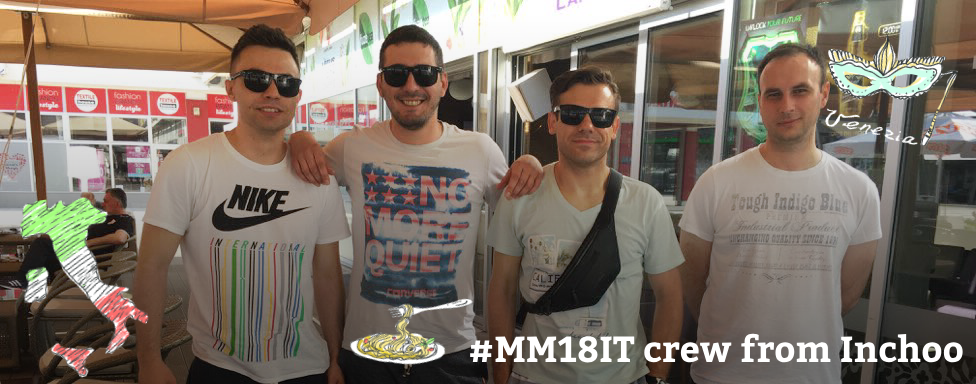 Italian Job, well sort of… It's #MM18IT time!