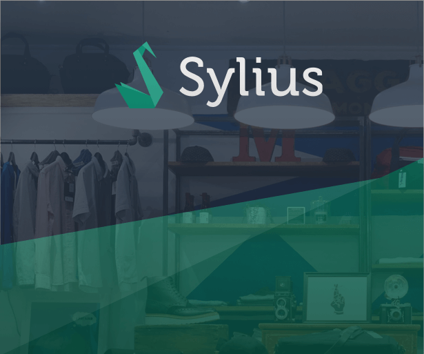 Sylius eCommerce platform for small, and highly customized stores