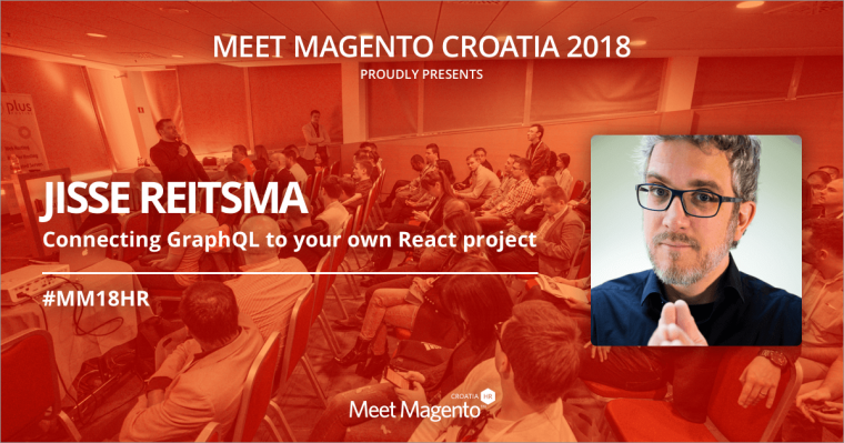 "Jisse Reitsma will be sharing his knowledge on ""Connecting GraphQL to your own React project"" – MM18HR will be burning from hot PWA topics!"