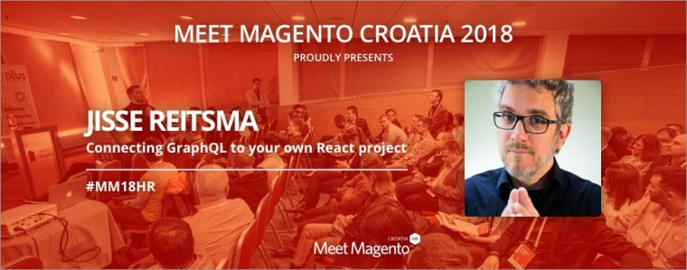"Jisse Reitsma will be sharing his knowledge on ""Connecting GraphQL to your own React project"" - MM18HR will be burning from hot PWA topics!"