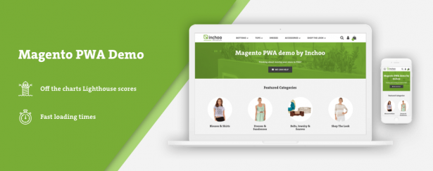 Introducing Magento PWA Demo by Inchoo