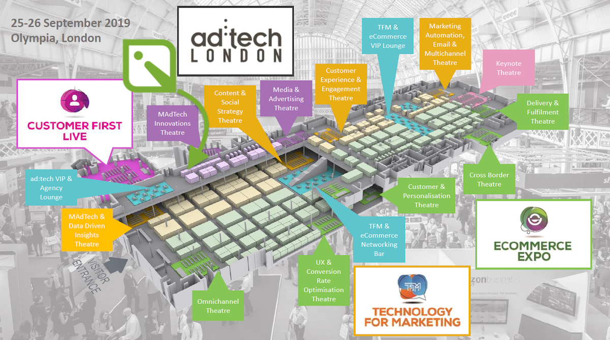 Exhibition Floorplan - ad:tech