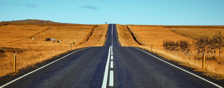 road horizont